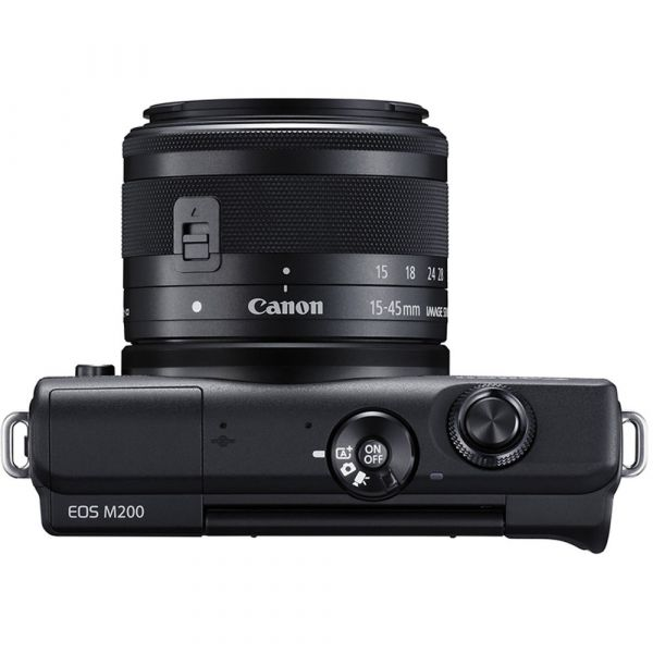 Canon EOS M200 Mirrorless Camera with 15-45mm IS STM Lens
