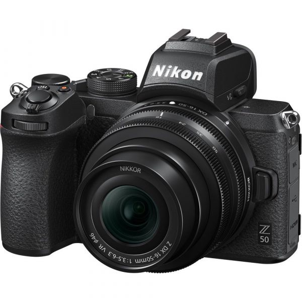 Nikon Z 50 Mirrorless Digital Camera with 16-50mm Lens & FTZ Mount Adapter