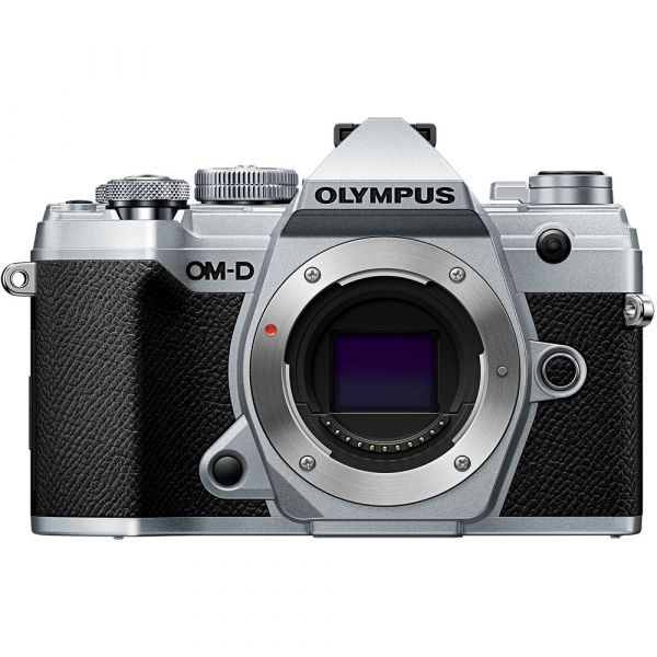 Olympus OM-D E-M5 Mark III Mirrorless Digital Camera (Silver) (Online Only. ETA 3-5 Days)