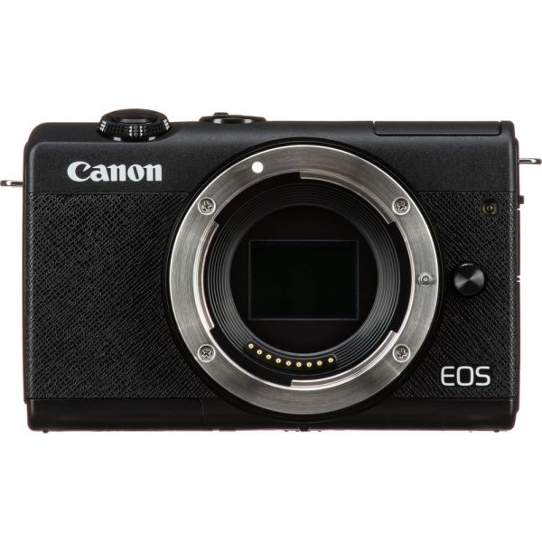 Canon EOS M200 Mirrorless Camera with 15-45mm and 55-200mm Lenses (Black)