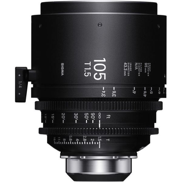 Sigma 105mm T1.5 FF High-Speed Art Prime 2 Lens with /i Technology (PL Mount)