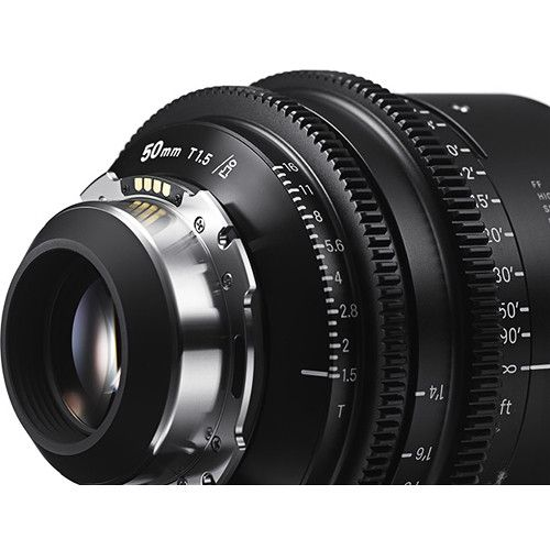 Sigma 28mm T1.5 FF High-Speed Art Prime 2 Lens with /i Technology (PL Mount)