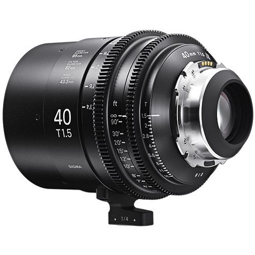 Sigma 40mm T1.5 FF High-Speed Art Prime 2 Lens with /i Technology (PL Mount)