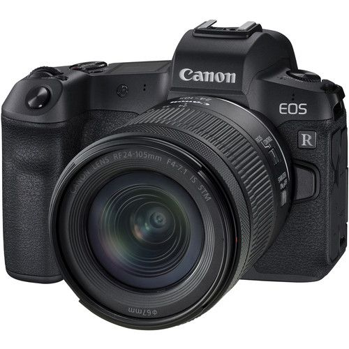 Canon EOS R Full Frame Mirrorless Camera with RF 24-105mm f/4-7.1 IS STM Lens