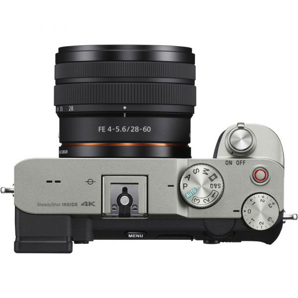 Sony Alpha a7C Mirrorless Digital Camera with 28-60mm Lens (Silver)