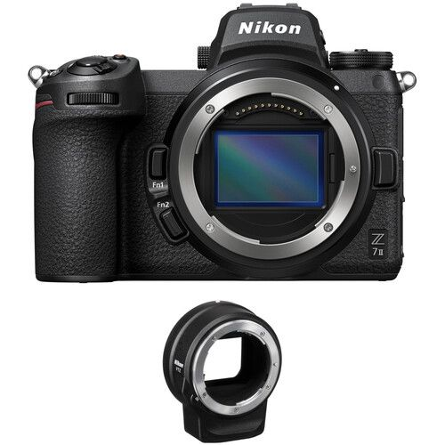 Nikon Z 7II Mirrorless Digital Camera Body with FTZ Adapter