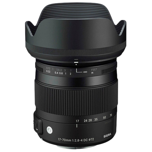 Sigma 17-70mm f/2.8-4 DC Macro OS HSM Contemporary Lens (Canon EF)
