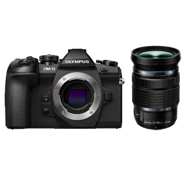 Olympus OM-D E-M1 Mark II Mirrorless Digital Camera with 12-100mm f/4 IS PRO Lens (Online Only. ETA 3-5 Days)