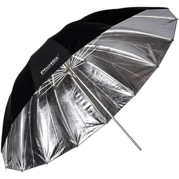 Phottix Premio Reflective Umbrella 85cm Silver/Black