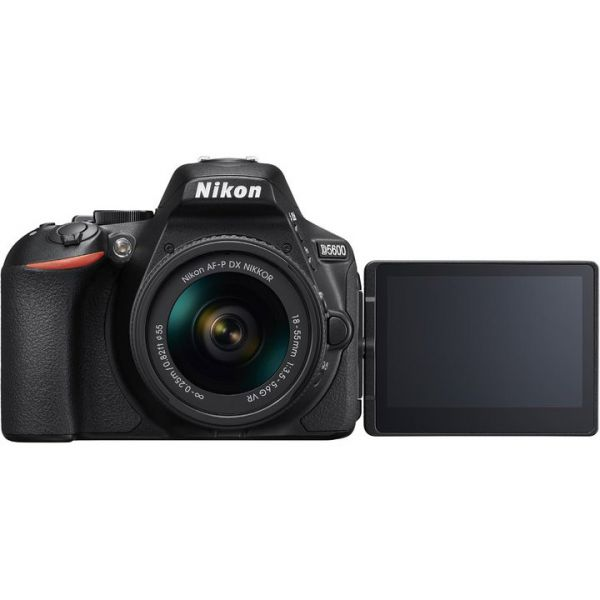 Nikon D5600 DSLR Camera with 18-55mm f/3.5-5.6 ED VR II Lens, 32GB SD Card and Camera Bag