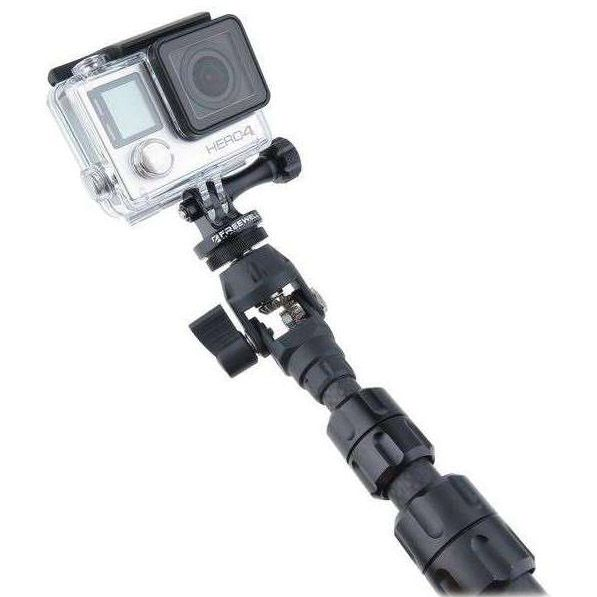 Freewell Pro S1 360 Spin Carbon Fiber Monopod For Action Cameras