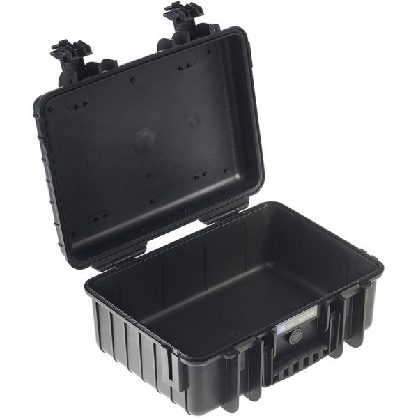 B&W International Type 4000 Outdoor Hard Case with Padded Dividers (Black)