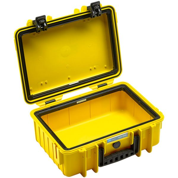 B&W International Type 4000 Outdoor Hard Case with Padded Dividers (Yellow)