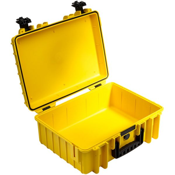 B&W International Type 5000 Outdoor Hard Case with Padded Dividers (Yellow)