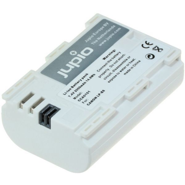 Jupio Ultra 2000mAh High Capacity Battery Pack for Canon LP-E6 and LP-E6N