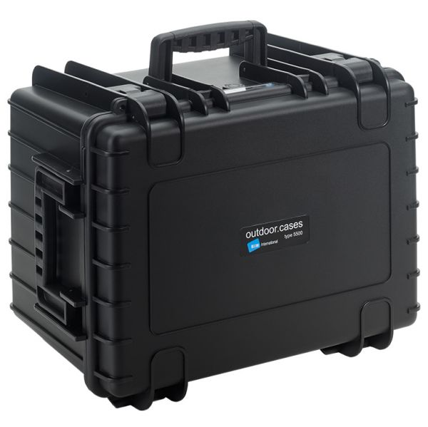 B&W International Type 5500 Outdoor Case with Padded Dividers