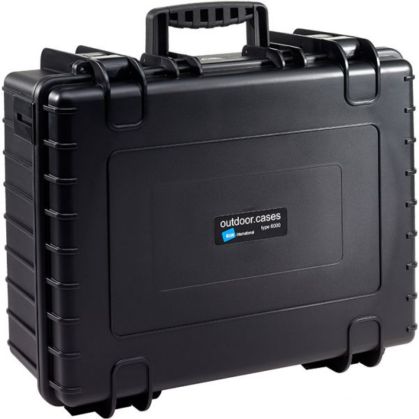 B&W International Type 6000 Outdoor Hard Case with Padded Dividers (Black)