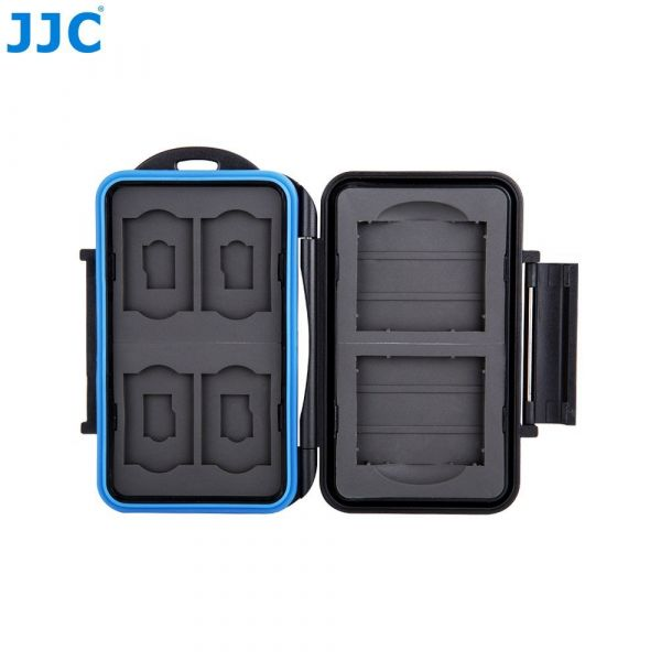 JJC MC-STC10 Water Resistant Memory Card Case For CF, SD & microSD Cards