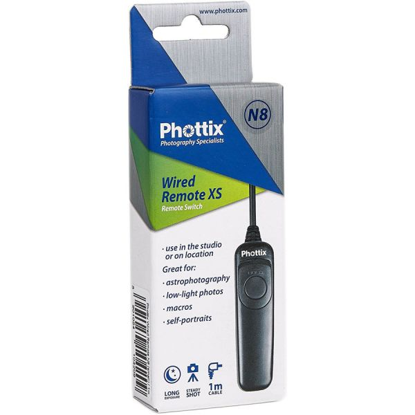 Phottix Wired Remote 1m For N8 10-Pin Connection