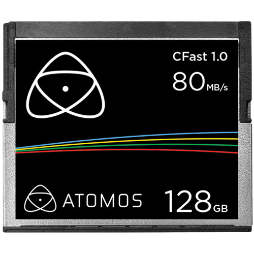 Atomos CFast 128GB Card for Ninja Star