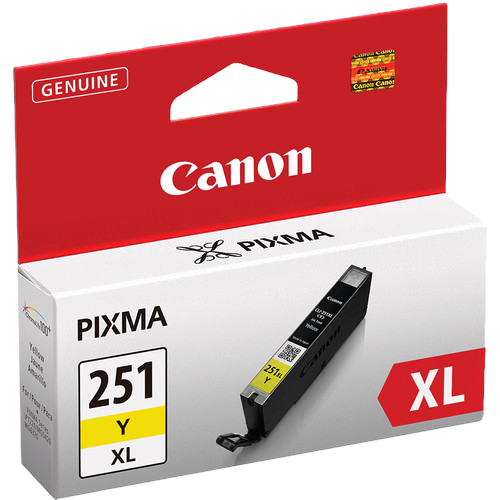 Canon CLI-451Y XL Printer Ink (Yellow)