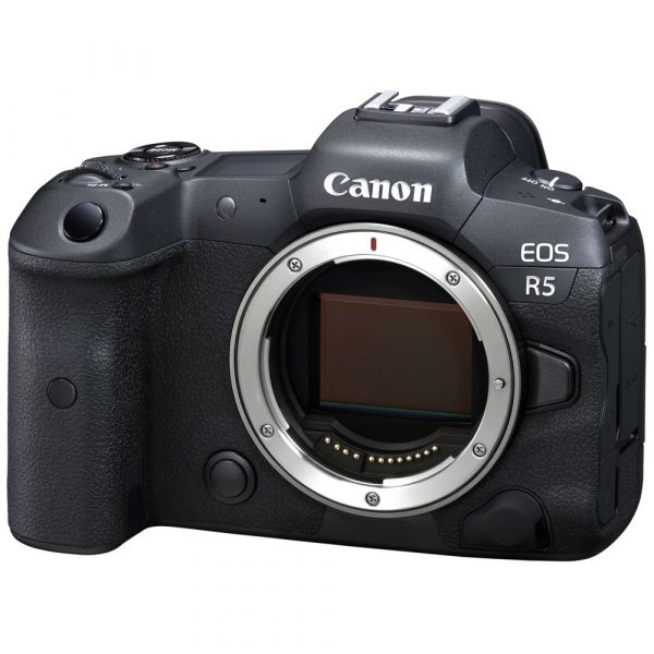 Canon EOS R5 Mirrorless Camera Body with Free EF-EOS R Mount Adapter