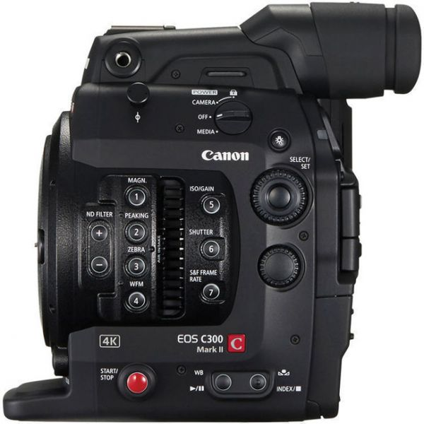 Canon C300 Mark II Side