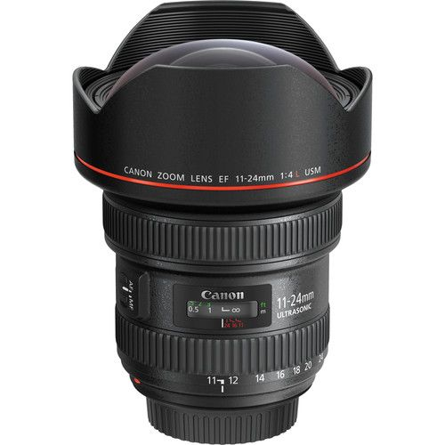 Canon EF 11-24mm f/4L lens
