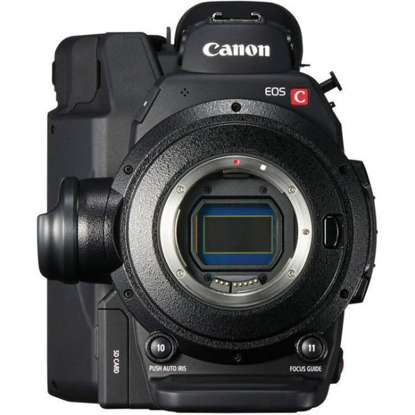 EOS C300 Mark II Front