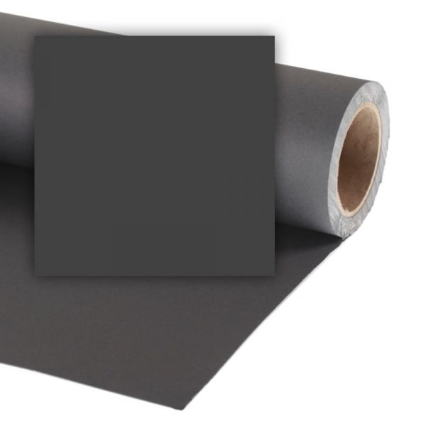 Colorama 2.72 x 25m Background Paper (Charcoal)