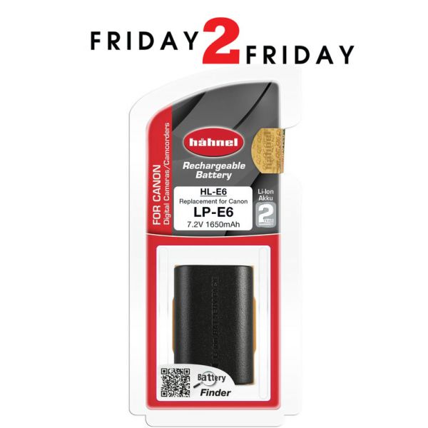 Hahnel HL-E6 Battery Pack for Canon (LP-E6 and LP-E6N)