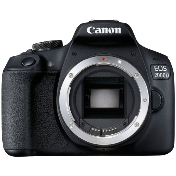 Canon EOS 2000D DSLR with EF-S 18-55mm IS II Lens