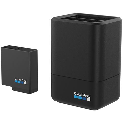 GOPRO ACC DUAL BATTERY CHARGER +BATTERY HERO 5 BLK