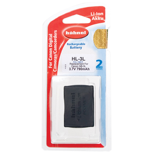 Hahnel HL-3L Lithium Ion Battery for Canon (NB-3L)
