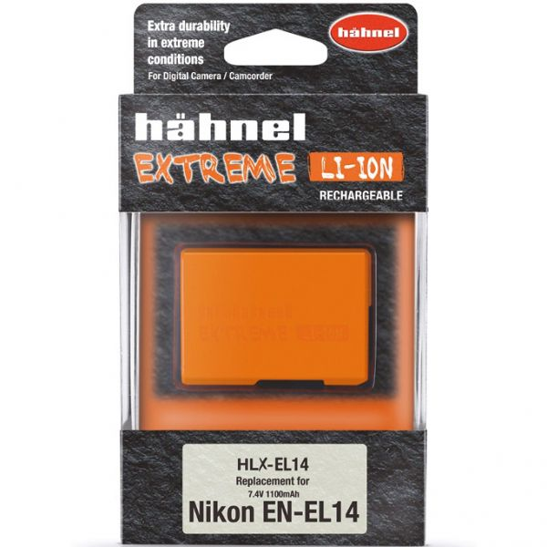 Hahnel HLX-EL14 Extreme High Capacity Battery Pack for Nikon EN-EL14