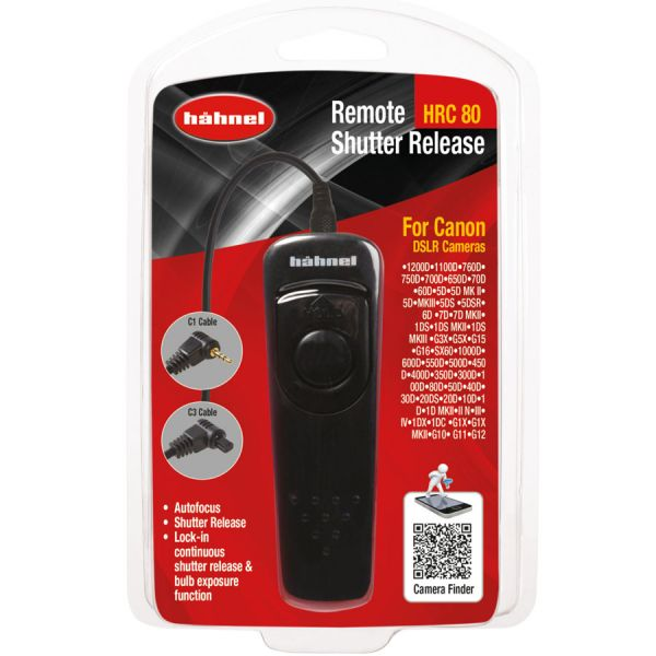 Hahnel HRC 80 Remote Shutter Release for Canon