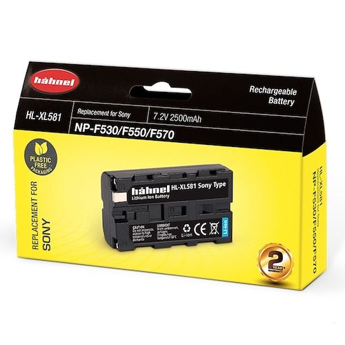 Hahnel HL-XL581 Lithium Ion Battery for Sony NP-530/550/570