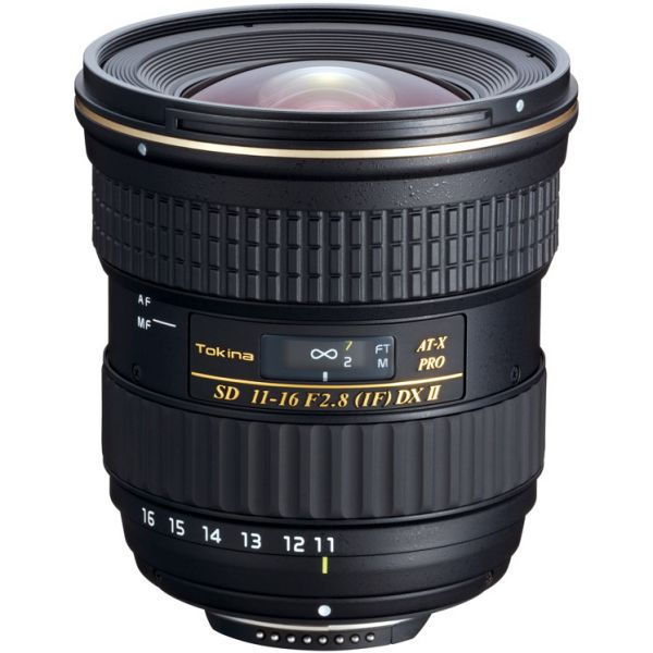 Tokina AT-X 11-16mm f/2.8 PRO DX II Lens (Canon)