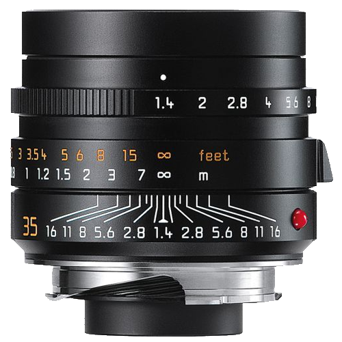 Leica SUMMILUX-M 35mm f/1.4 ASPH. Wide-Angle Lens