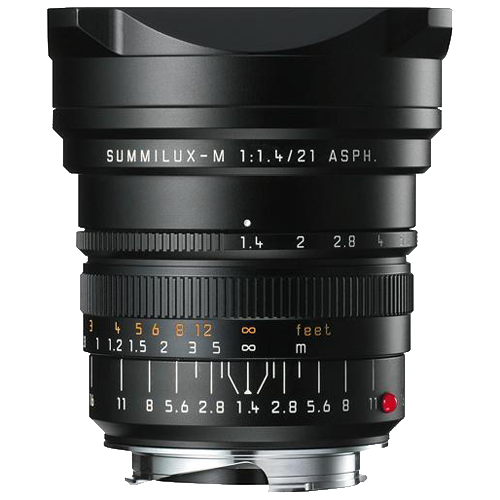 Leica SUMMILUX-M 21mm f/1.4 ASPH. Wide-Angle Lens