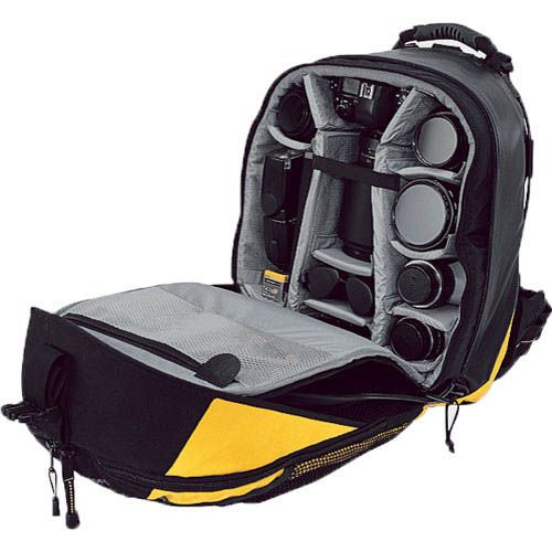 Lowepro Dryzone 200 Waterproof Backpack Interior (Yellow)