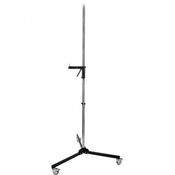 Manfrotto 231CS Chrome Steel Column Stand with Sliding Arm (Silver)
