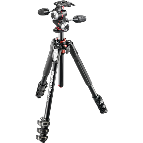 Manfrotto MK190XPRO4-3W Tripod with XPRO 3-Way Head
