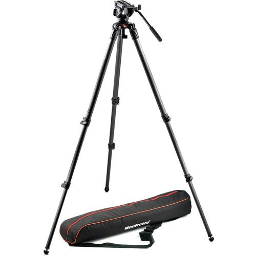 Manfrotto MVH500A + 535 Tripod Kit + Bag