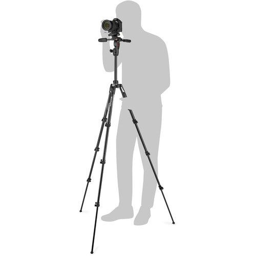 Manfrotto Befree 3-Way Live Advanced Tripod with Video Head