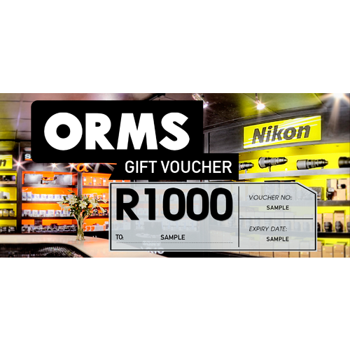 ORMS Gift Voucher - R1000