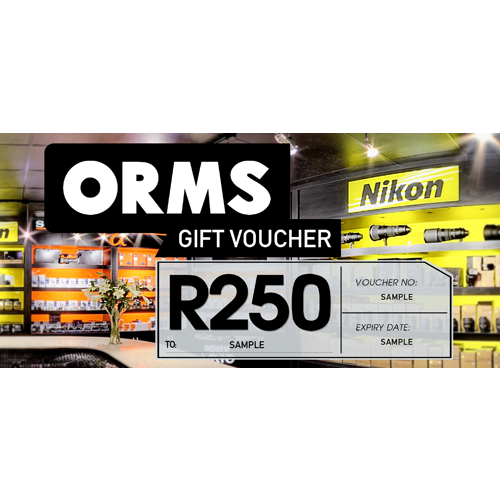 ORMS Gift Voucher - R250