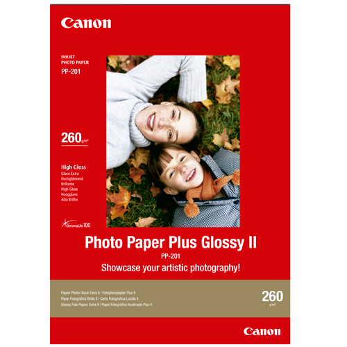 Canon PP201 Glossy Photo Paper (A4 - 20 Sheets)