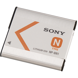 Sony NP-BN1 Rechargeable Lithium-ion Battery Pack (3.6V, 600mAh)