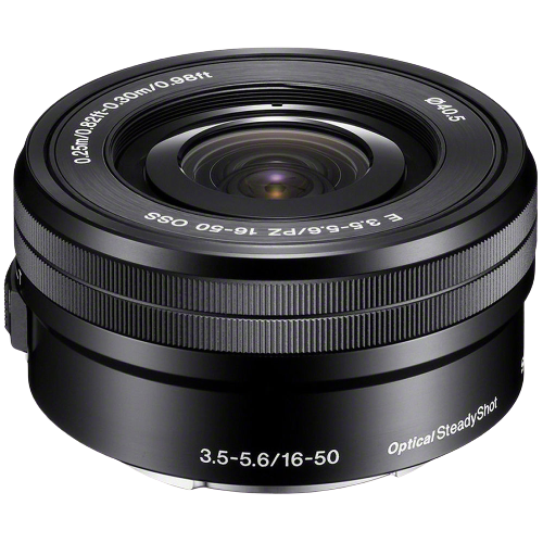 Sony E PZ 16-50mm f/3.5-5.6 OSS Lens (E Mount)